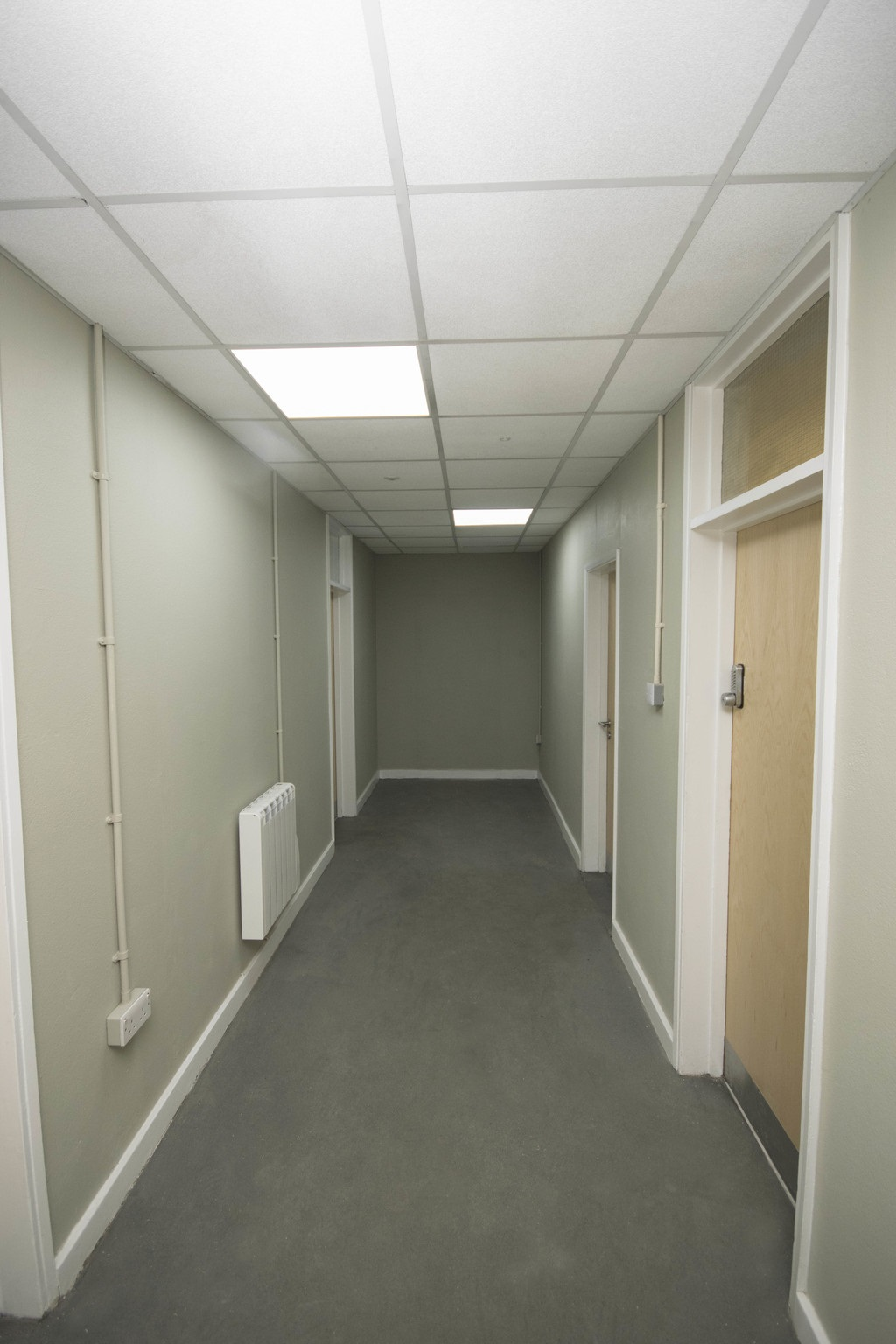 Hall to service office